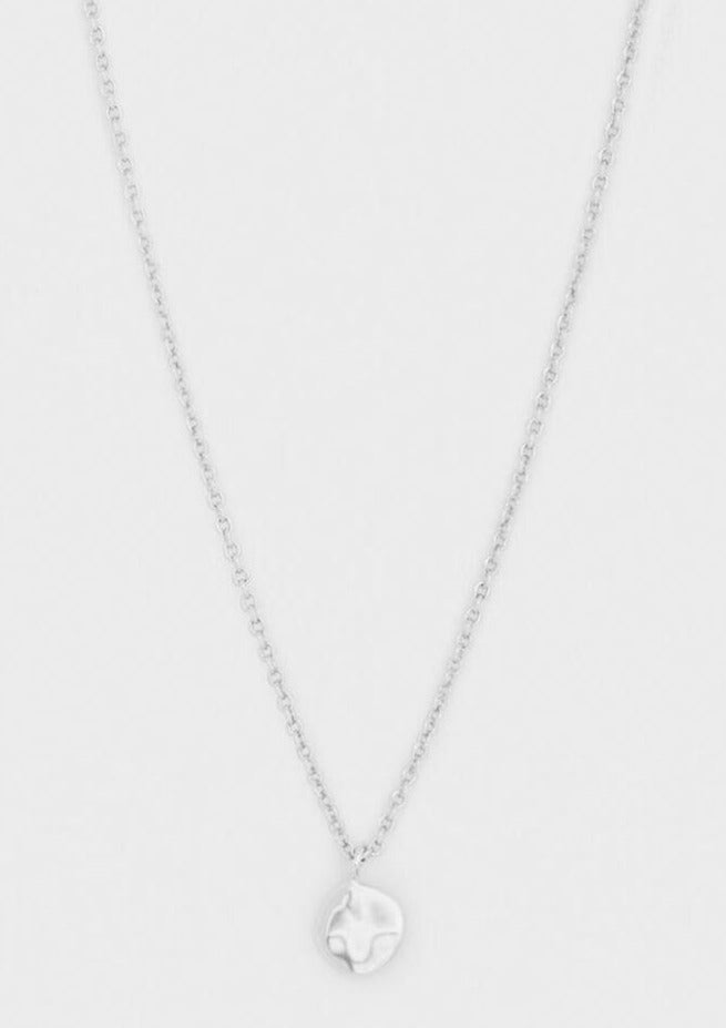 Chloe charm necklace silver