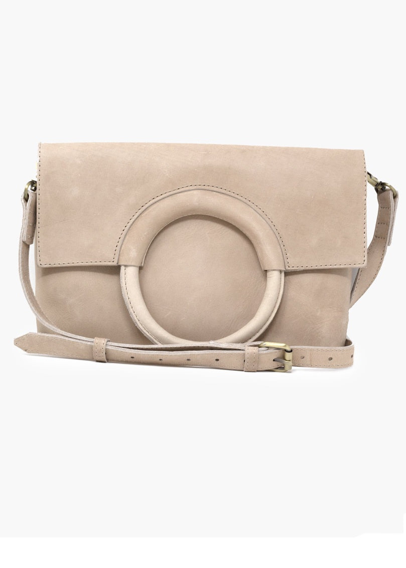 Fozi Ring Tote Fog/Bone