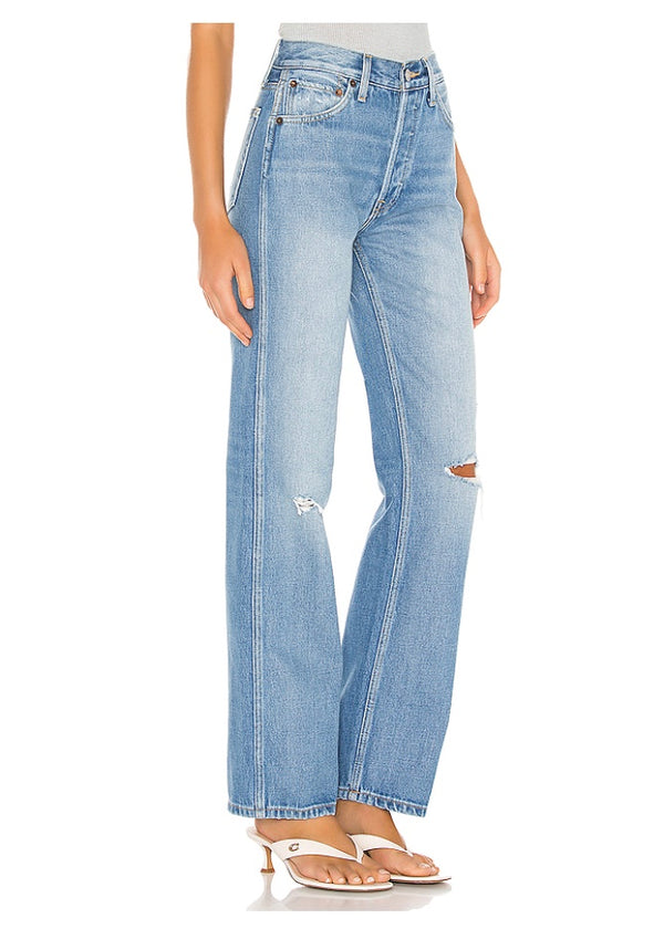 agolde 90's high rise, loose fit jeans