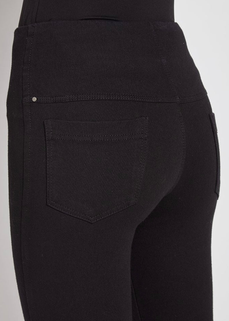 toothpick midtown black denim