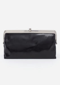 lauren genuine leather black wallet