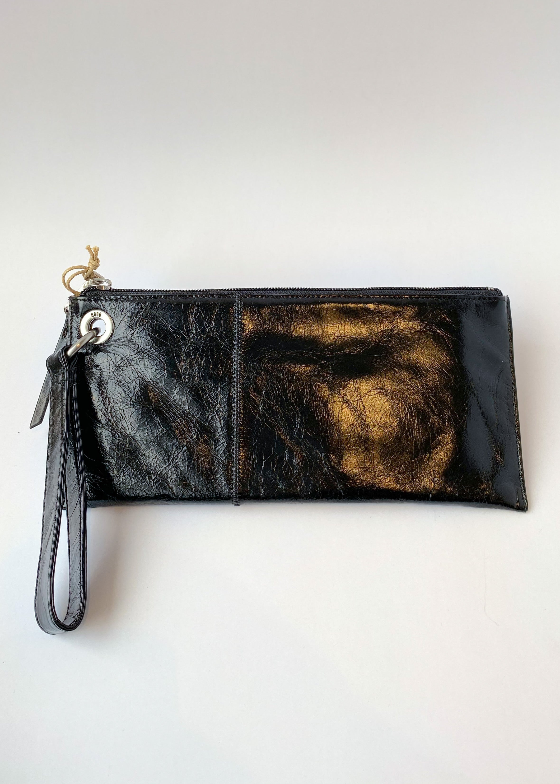 vida genuine leather clutch