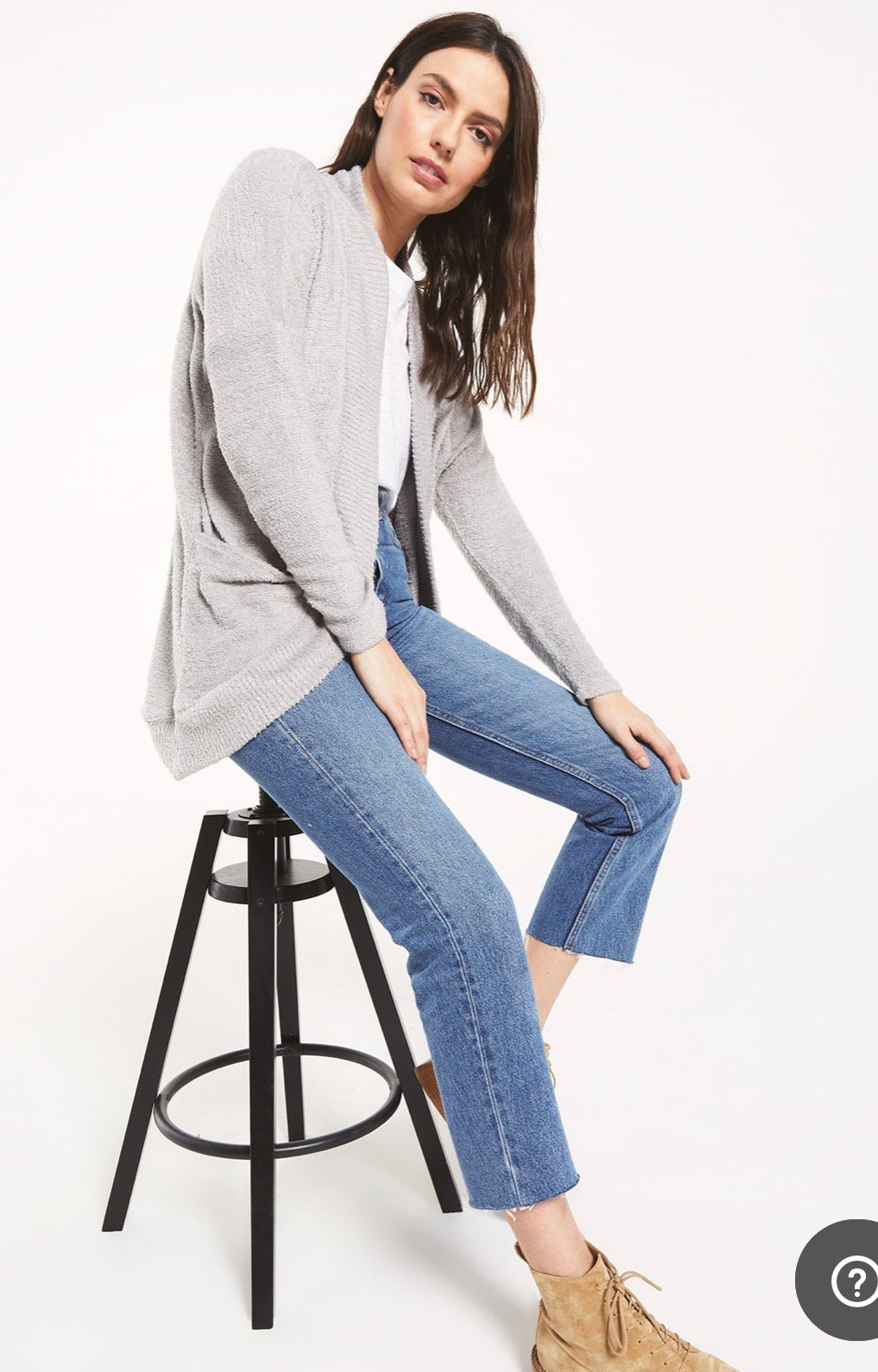 kaye sweater grey