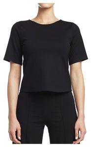 clare black top / extended