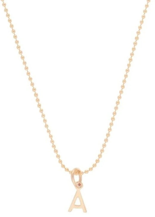 "16"" respect gold charm necklace"