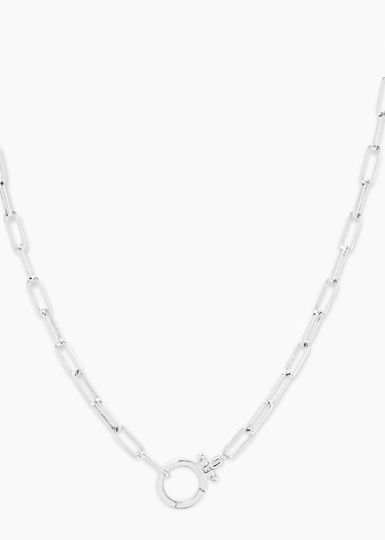 parker silver necklace