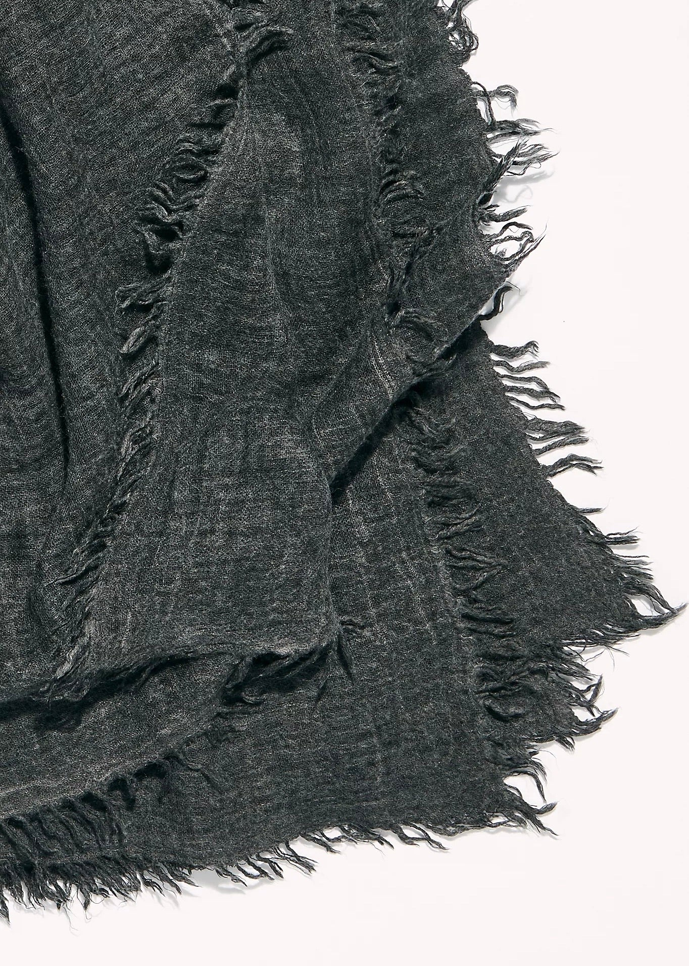 sun washed black travel scarf