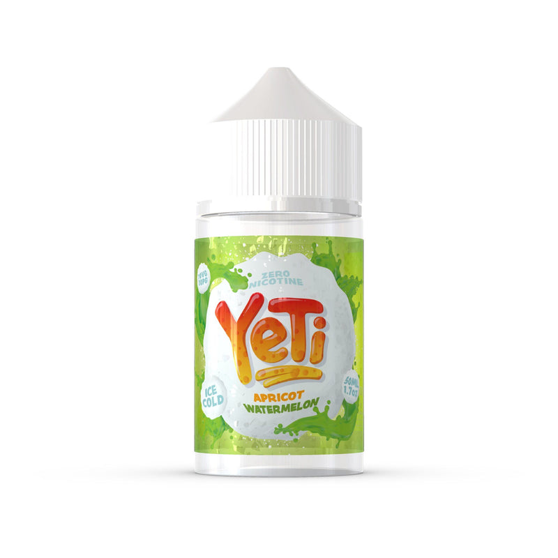 Yeti 50ml Short Fill E-Liquid Apricot Watermelon Ice
