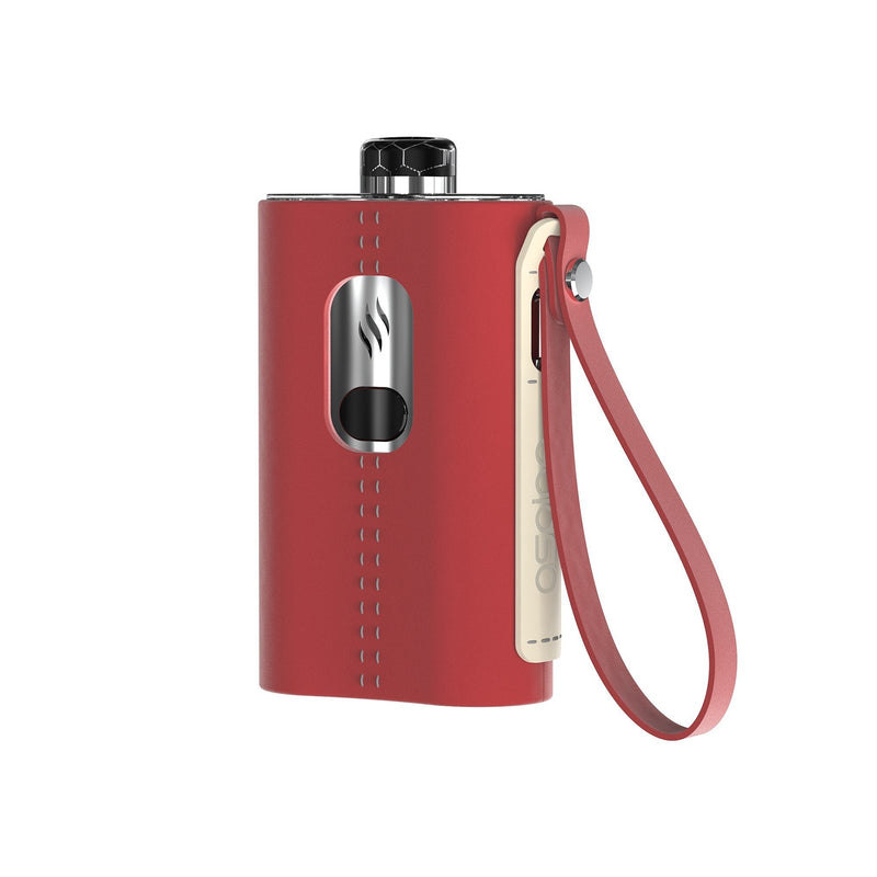Aspire Cloudflask Kit Red Leather