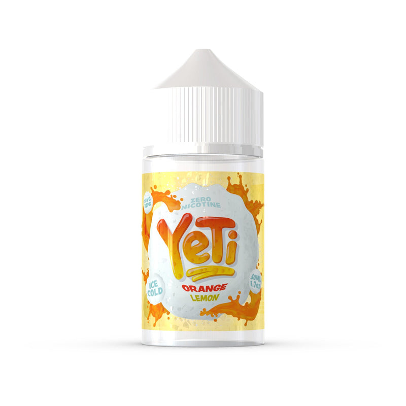 Yeti 50ml Short Fill E-Liquid Orange Lemon Ice