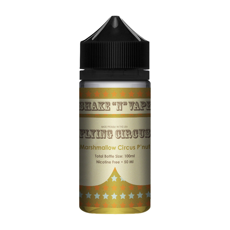 Flying Circus Short Fill E-Liquid Marshmallow Circus P'nut