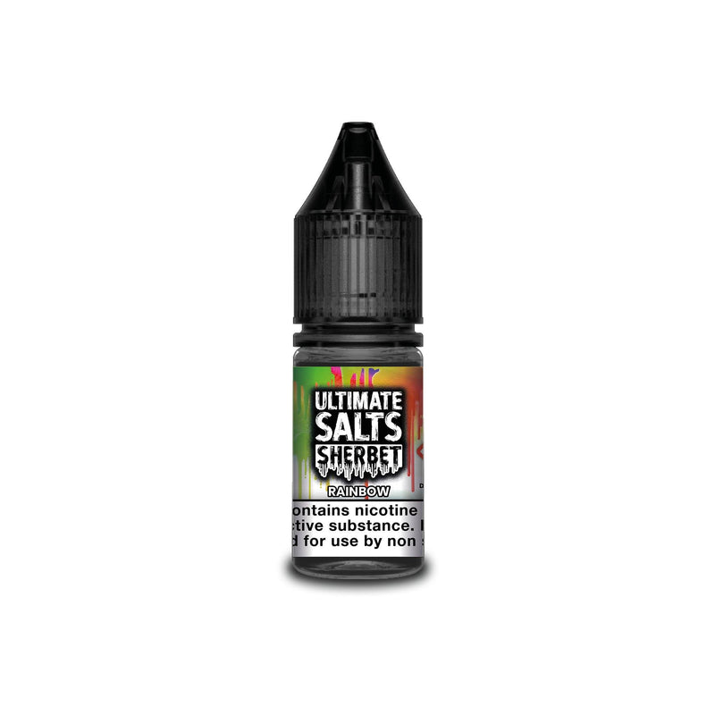 Ultimate Salts E-Liquid Rainbow Sherbet 10MG - Medium Nicotine