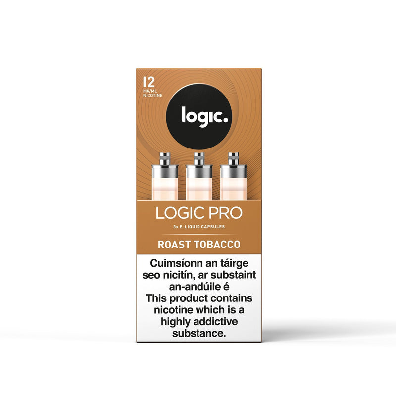 Logic Pro Capsules Roast Tobacco 12MG - Medium Nicotine