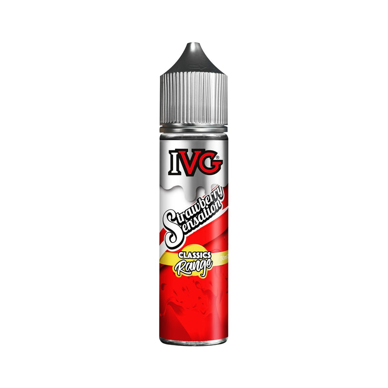 IVG E-Liquid Strawberry Sensation 3MG - Very Low Nicotine ?id=16091959427203