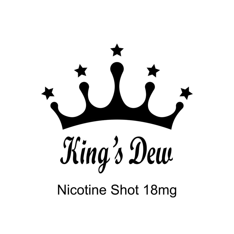 King's Dew Nicotine Shot 18mg