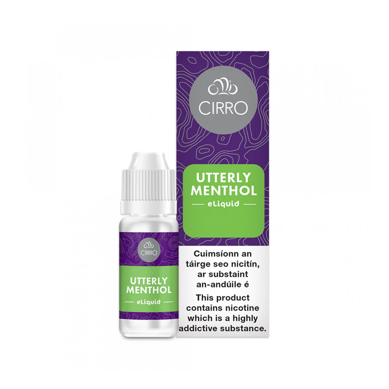 Cirro E-Liquid Utterly Menthol 6MG- Low Nicotine