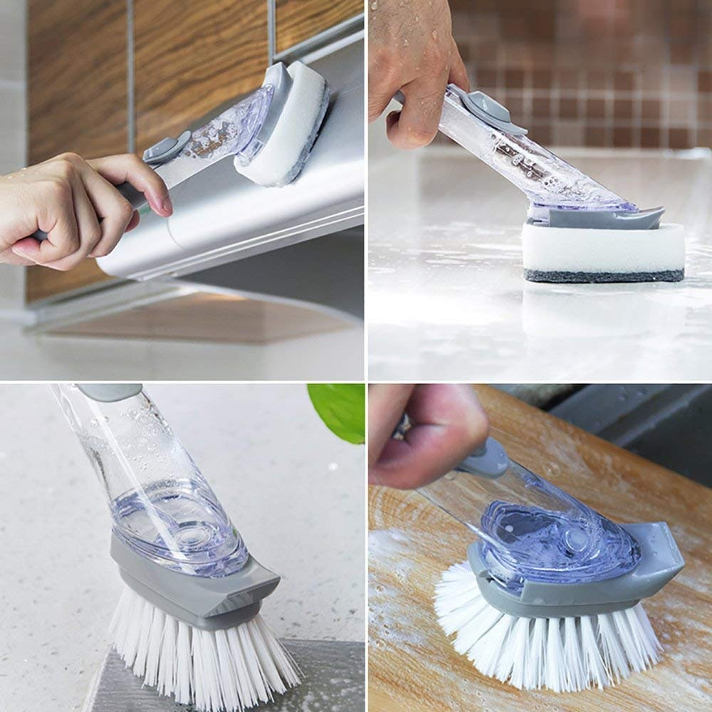 Ultimate Soap Dispensing Brush
