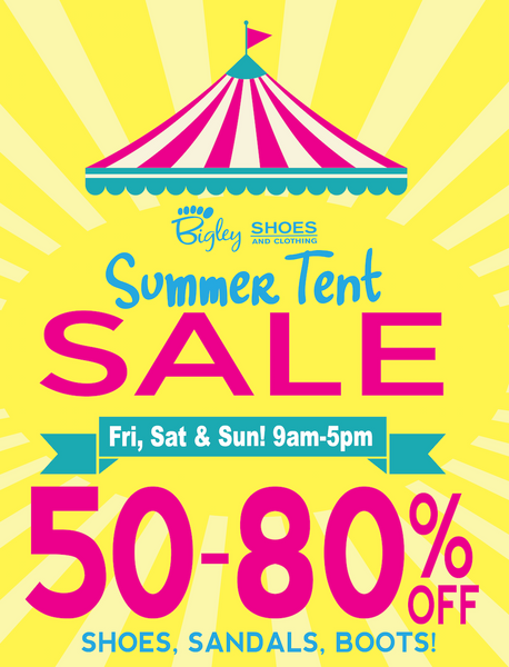 80ed55612 Tent Sale – Bigley Shoes and Clothing