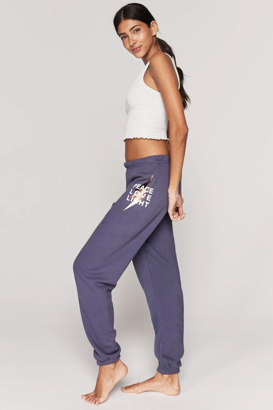 SPIRITUAL GANGSTER- PEACE LOVE LIGHT SESSIONS SWEATPANT