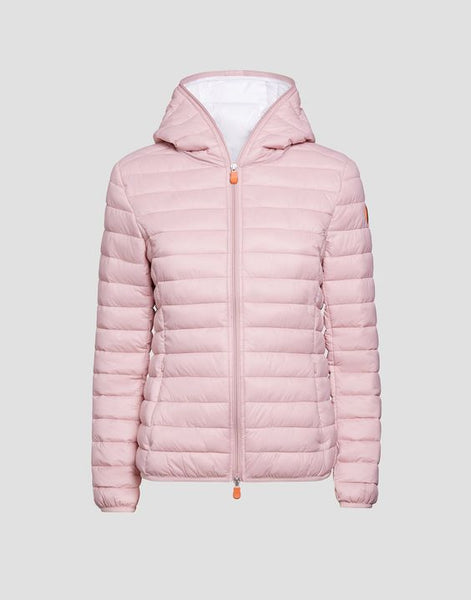 SAVE THE DUCK- WOMEN'S SHERPA FAUX SHEEPSKIN HOODED JACKET (more colours)