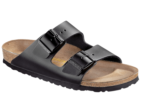 BIRKENSTOCK- MEN'S ARIZONA | SMOOTH LEATHER | BLACK SL