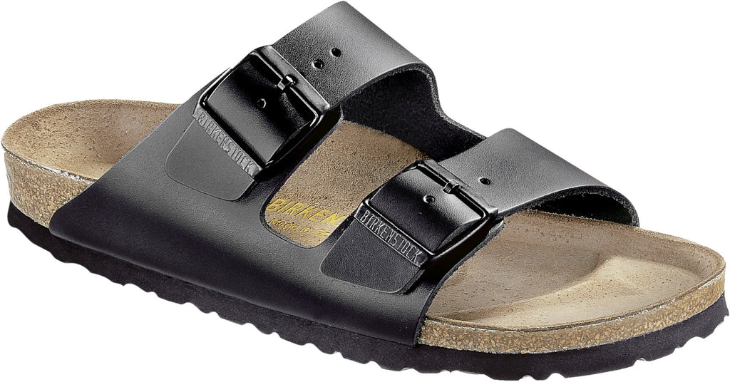 BIRKENSTOCK- WOMEN'S ARIZONA | SMOOTH LEATHER | BLACK SL