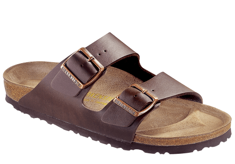 BIRKENSTOCK- MEN'S ARIZONA | BIRKO-FLOR | DARK BROWN BF