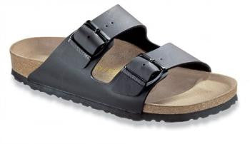 BIRKENSTOCK- MEN'S Arizona Soft | BIRKO-FLOR | BLACK BF