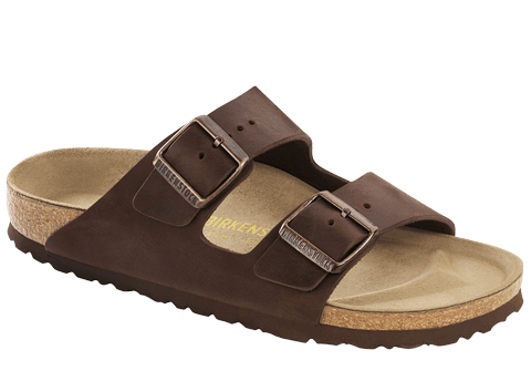 BIRKENSTOCK- MEN'S ARIZONA| NATURAL LEATHER | HABANA NL