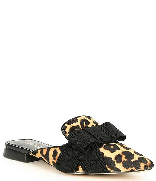 MICHAEL KORS - AMES SLIDE PRINTED HAIRCALF