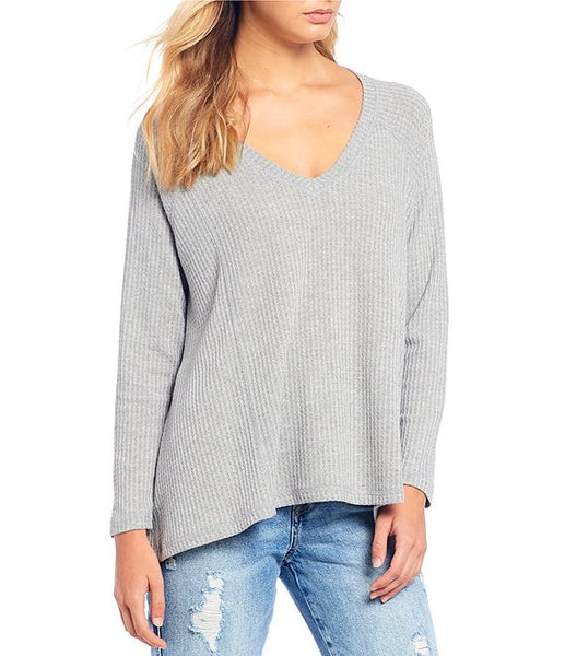 JACK BY BB DAKOTA- WARM WELCOME WAFFLE KNIT THERMAL