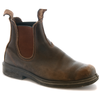 BLUNDSTONE- MEN'S 067 CHISEL TOE STOUT BROWN