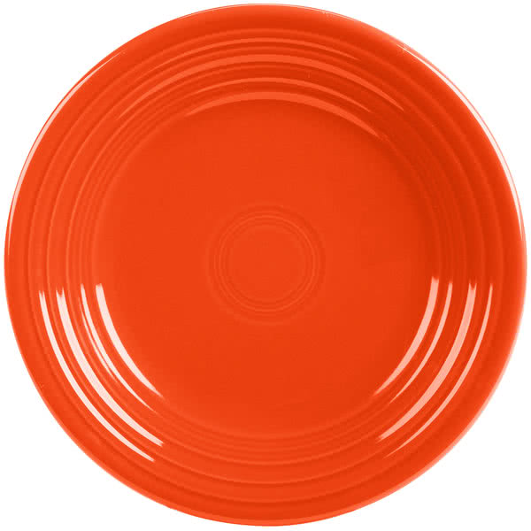 FIESTA- LUNCHEON PLATE POPPY