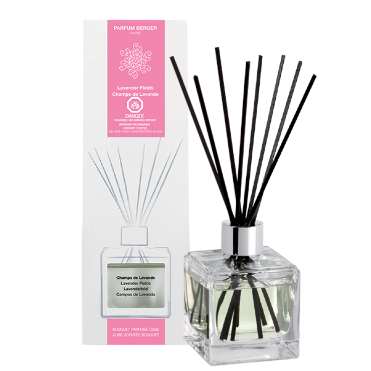 Lampe Berger- The cude scented bouquet Lavender fields