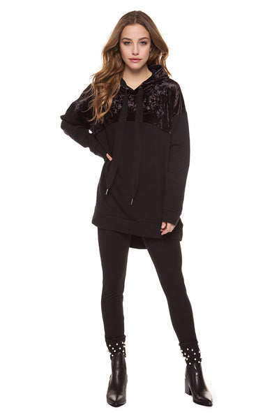 DEX- HOODED LONG SLEEVE SHIRT 1224079