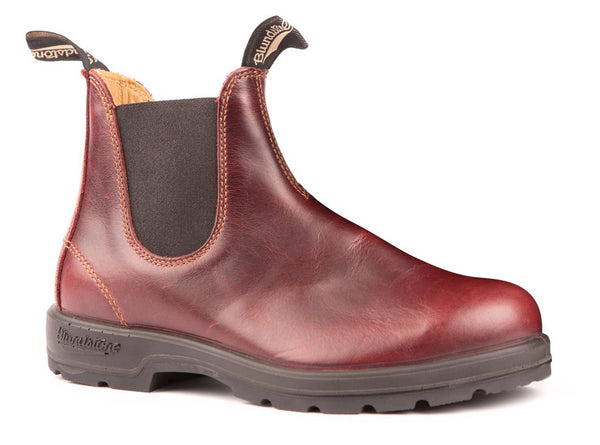 BLUNDSTONE- 1440 WOMEN'S THE LEATHER LINED IN REDWOOD