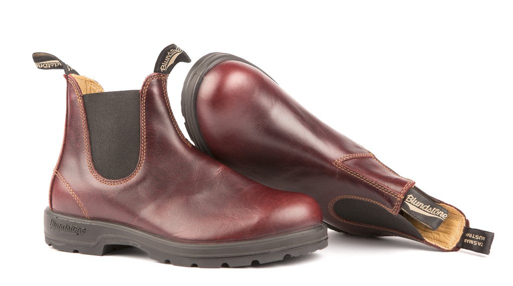 Blundstone- Men's 1440 - The Leather Lined in Redwood