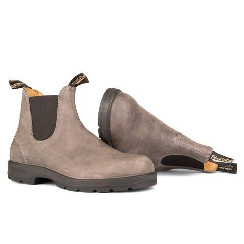 Blundstone- Men's 1469 - The Leather Lined in Steel Grey