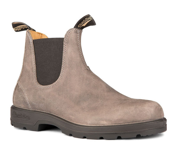 BLUNDSTONE- 1469 MEN'S LEATHER LINED IN STEEL GREY