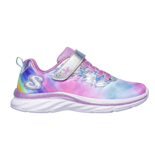 SKECHERS - YOUTH QUICK KICKS ALICORN WINGS SNEAKERS