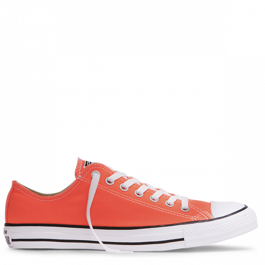 CONVERSE- Women's Chuck Taylor All Star Fresh Colour Low Top Hyper Orange