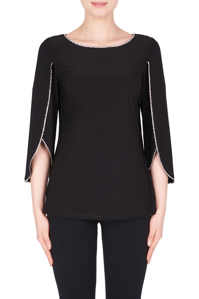 JOSEPH RIBKOFF- LONG SLEEVE TOP 183026X