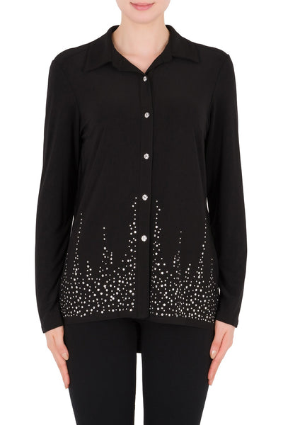 JOSEPH RIBKOFF- LONG SLEEVE TOP 183120X