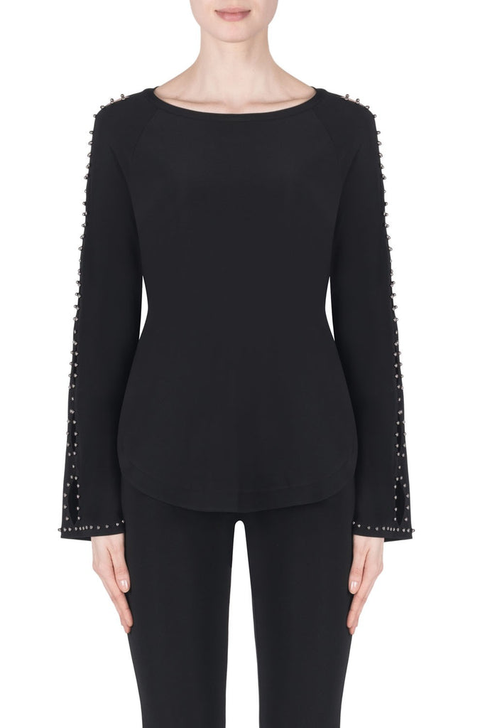 JOSEPH RIBKOFF- LONG SLEEVE TOP 183169