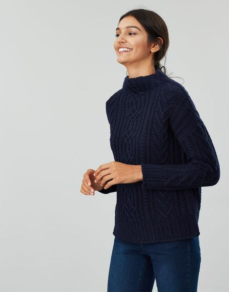 JOULES- JAMIE CABLE SWEATER