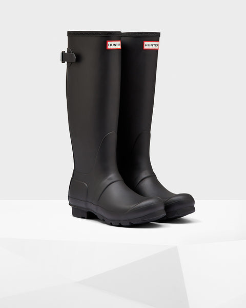 HUNTER- Women's Original Back Adjustable Wellington Boots