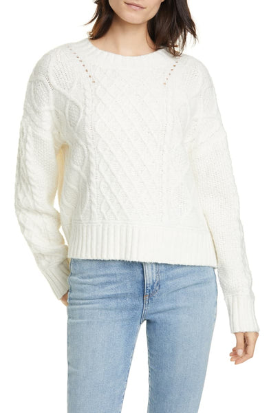 LINE- ALVA TIE BACK SWEATER
