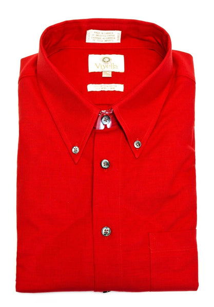 VIYELLA- Button-Down Collar, Long Sleeve Sport Shirt