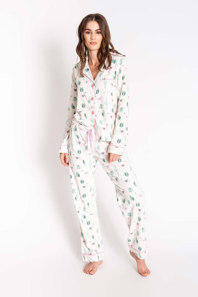 PJ SALVAGE- CHELSEA FIT FLANNELS PJ SET (more colours)