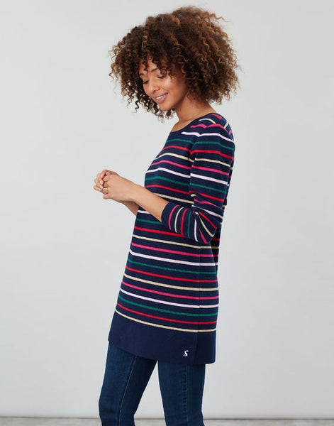 JOULES- ESTELLE KNITTED LONG SLEEVE TUNIC